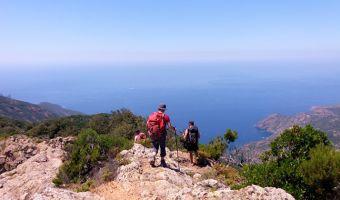 Randonnée en Corse sur le Mare e Monti