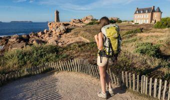 Randonnée sur la côte de Granit Rose, le phare de Mean Ruz