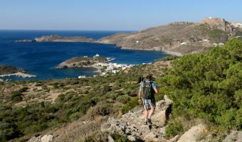 Randonnée sur l'île de Cythère