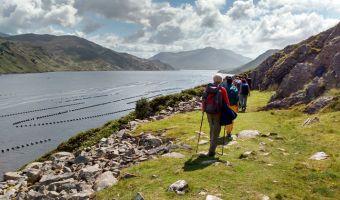 Randonnée dans le fjord de Killary