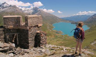 Randonnée au fort de la Turra et le lac du Mont Cenis