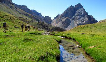 Randonnée accompagnée sur la Grande Traversée des Alpes