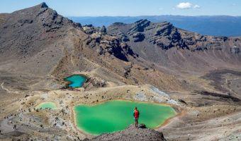 Randonnée au mont Ruapehu dans le parc national de Tongariro