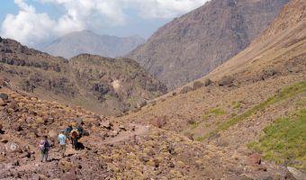 Randonnée muletière dans le Haut Atlas au Maroc