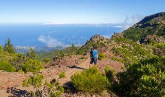 Randonnée au Pico Ruivo sur l'île de Madère, Portugal