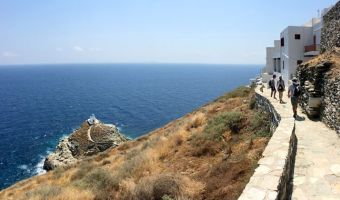 Randonnée sur l'île de Sifnos et la chapelle Efta Martyres