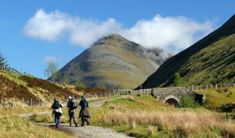 Randonnée sur la West Highland Way