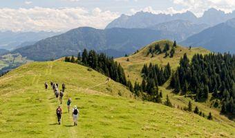 Randonneurs dans le Tyrol