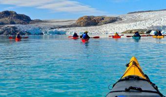 Randonnée en kayak de mer au Groenland