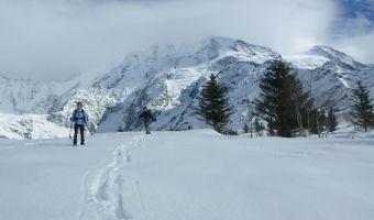 Raquettes au pays du Mont-Blanc