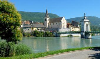 Seyssel et le Rhône