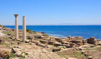 Site archéologique de Tharros en Sardaigne