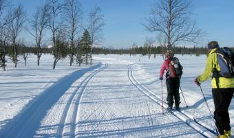 Ski de fond à Äkäslompolo
