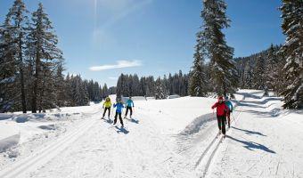 Ski de fond à Autrans-Méaudre en Vercors