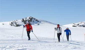 Ski de fond à Skeikmapnen