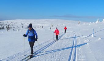 Voyage à la neige : Finlande : Laponie finlandaise : Kiilopää