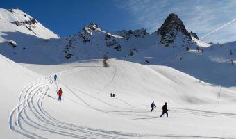 Ski de randonnée nordique en Haute Ubaye