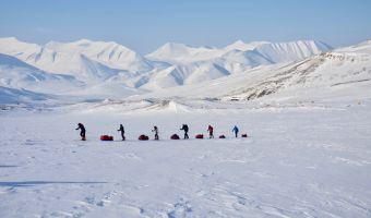 Ski de randonnée nordique dans le Spitzberg