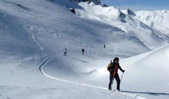 Ski de randonnée nordique sur la trace des Escartons