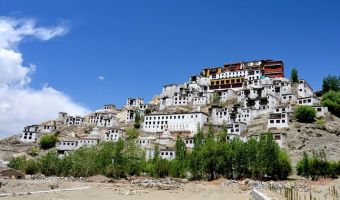Thiksay Gompa dans le Ladakh