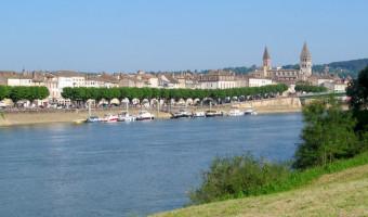 Tournus et la Saône