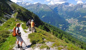 Le val d'Anniviers en Suisse