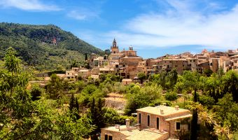 Village de Valldemossa sur l'île de Majorque