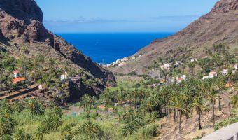 Valle Gran Rey sur l'île de La Gomera