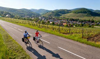 Vélo en Alsace