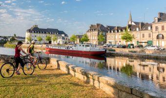 Voyage à pied : Bretagne : Le Canal de Nantes à Brest