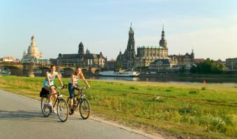 Vélo à Dresde