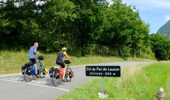 Vélo dans la Drôme