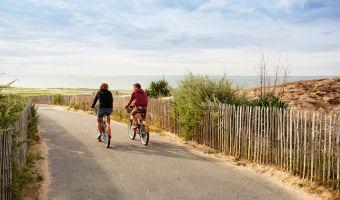 Vélo à La Tranche-sur-Mer sur La Vélodyssée