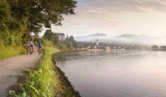 Vélo le long du Danube à Grein