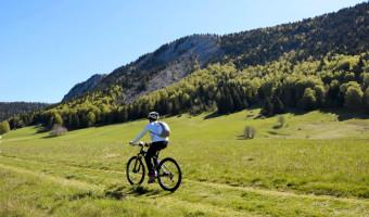 Vélo dans le parc naturel du Vercors