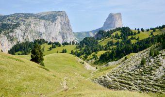 Le Vercors et le mont Aiguille