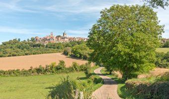 Vézelay, dans le Morvan