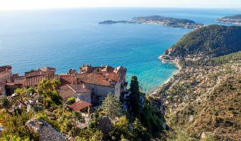 Village d'Èze sur la Côte d'Azur
