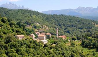 Village de Levie en Corse