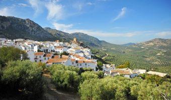 Village de Zuheros en Andalousie