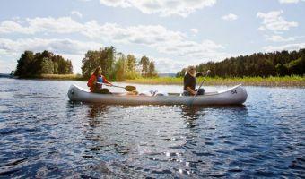 Voyage en canoë, en Suède