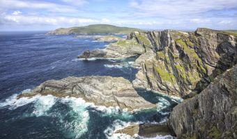 Vue sur les Kerry Cliffs
