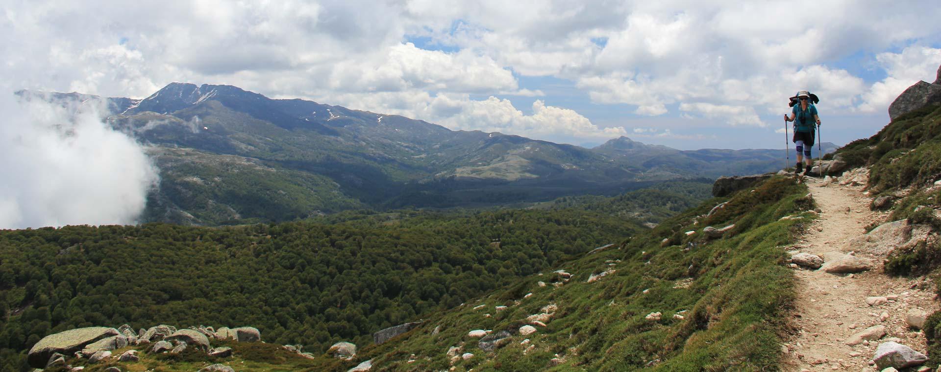 Image Corse : le GR20 Sud
