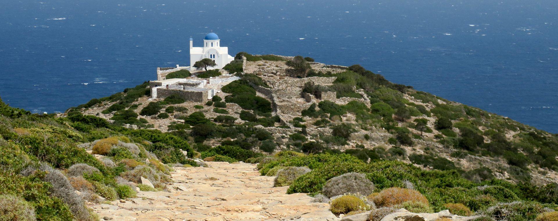 Voyage à pied : Les Cyclades : Naxos, Amorgos et Santorin