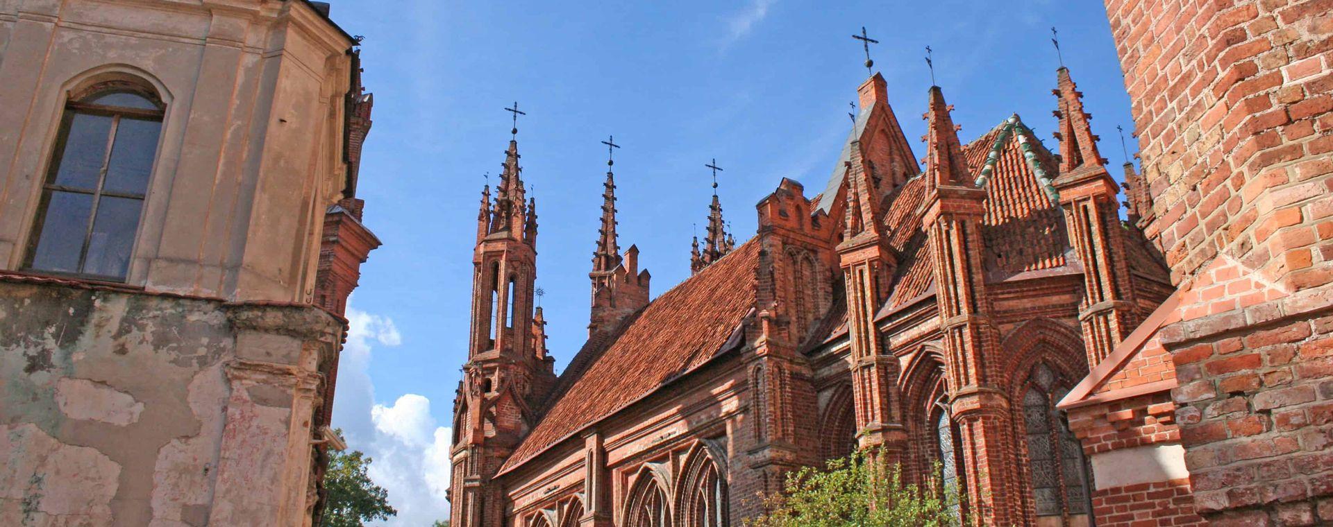 Voyage à pied : Les Pays Baltes de Tallinn à Vilnius