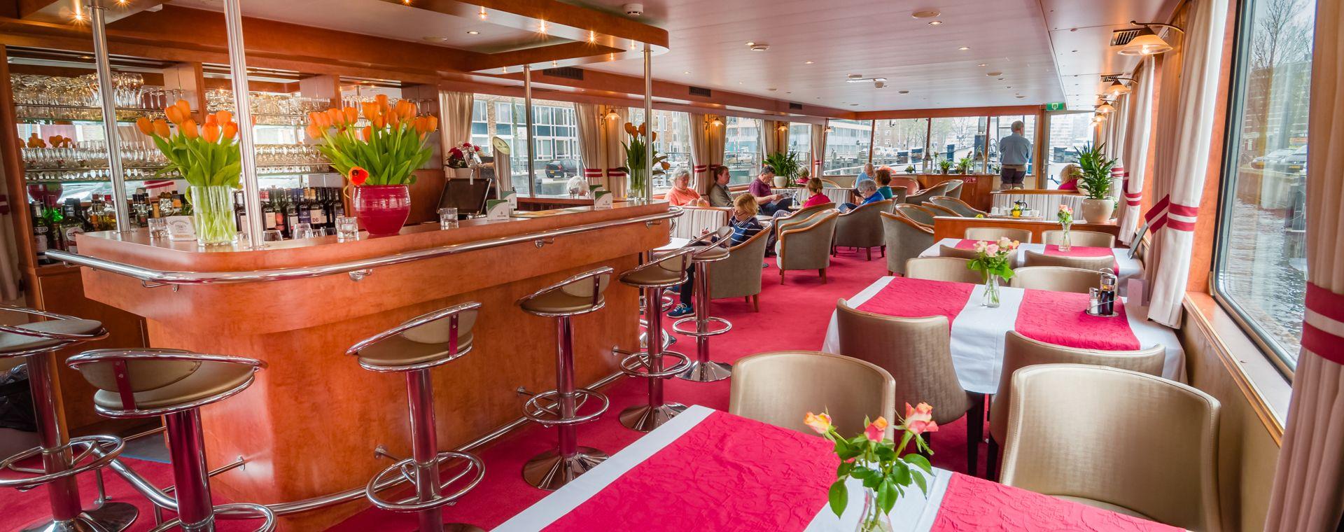 Image D'Amsterdam à Bruges, à bord du Fluvius