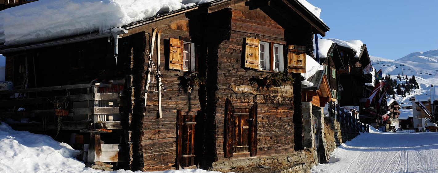 Voyage à thème : Raquettes et Balnéo à Aletsch