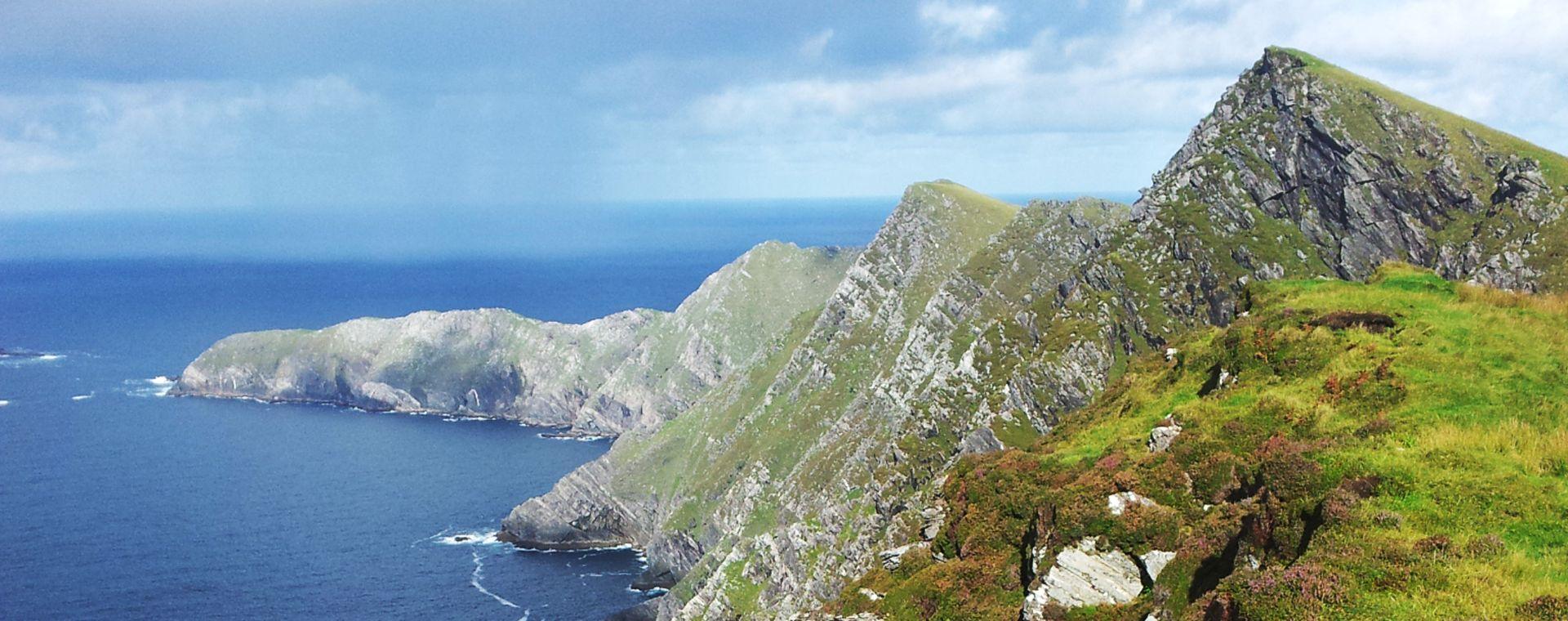 Image Irlande : les montagnes du Connemara à vélo