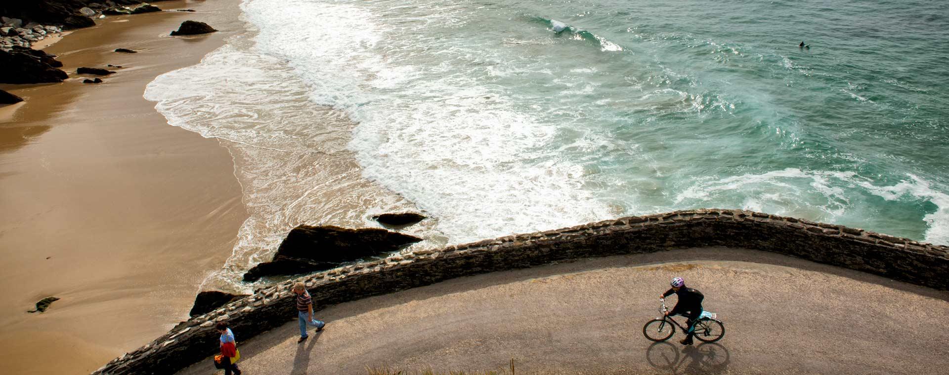 Image En roue libre sur la péninsule de Dingle