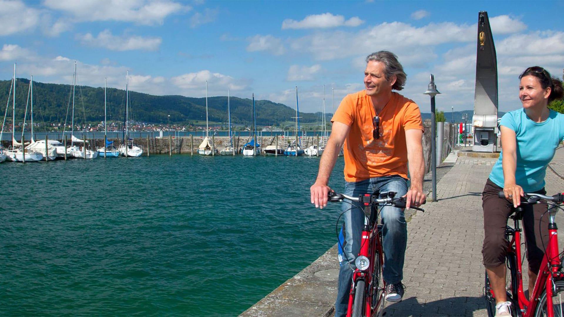 Image Tour du lac de Constance à vélo